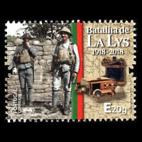 Portugal 2018 - 100th Anniv. of the Battle of the Lys Military War Set - MNH