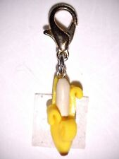 Charm Banane Florales Gelb Charms Anhänger Fimo Dangle Bettelarmband Armband