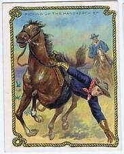 Hassan Cigarettes Cowboy Series T53 Picking Up the Handkerchief high grade 329