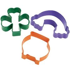 St Patrick's Day Cookie Cutter 3 pc. Set from Wilton #0210 - NEW