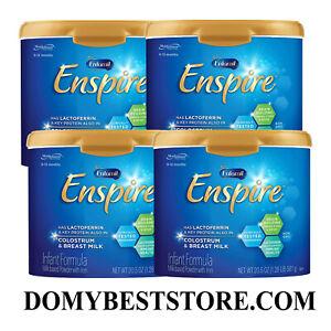 Enfamil Enspire Baby Formula Milk Powder 20.5 Ounce,DHA,Probiotics,4 PK EXP03/22