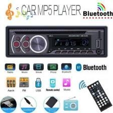 Single 1 Din BT Car Stereo MP3 Player CD DVD AUX USB FM Radio In Dash Head Unit