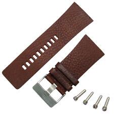 Diesel Genuine Original Watch Strap Real Leather S/Steel Buckle for DZ7071