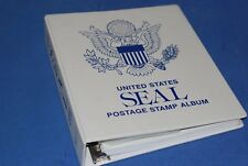 Untied States SEAL stamp album (printed by Canada Wholesale Supply) Nice unused.