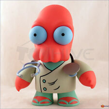 Futurama Dr. John Zoidberg displayed KidRobot 6-inch vinyl figure with box