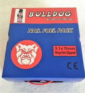 HOT DIPPED GALV NAIL ONLY PACKS FOR ALL 34 DEGREE BATTERY & PNEUMATIC NAILERS