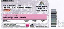 Ticket - Newcastle United v Derby County 28.12.09