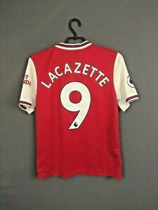 Lacazette Arsenal Jersey 2020/21 Home Kids Boys 13-14 y Shirt Adidas FH7816 ig93
