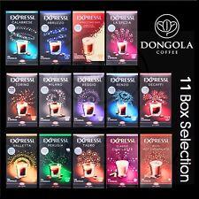 11 BOX (176) You Choose Expressi Automatic Coffee Machine Capsules Pods ALDI