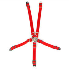 Yeah Racing YA-0558RD 1/10 RC Scale Accessory Safety Belt Red