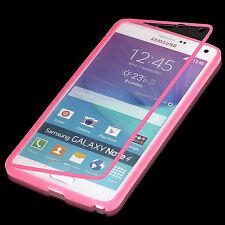 Samsung Galaxy Note 4 Touch case bolso funda estuche protección cáscara rosa a9