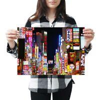 A3 - Shinjuku Kabuki-cho District Tokyo Japan Poster 42X29.7cm280gsm #46293