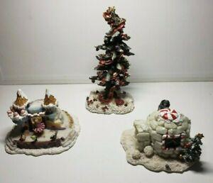 Kringles Village Jolly Christmas Tree, Kringles Artic Igloo, Sugar Plum Pavilion