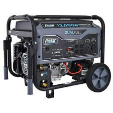 Pulsar 12000 Watt Portable Dual Fuel Propane/Gas Generator Electric Start G12KBN