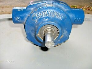 6 Roller Pump - Delavan Roller PRO ® 6900C 300 PSI 19.6 GPM, CI, CCW