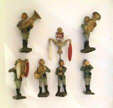 908/  Lineol Figur en Musiker Musik Kapelle/ 7,5cm 2WK Soldat Original v1938 TOP