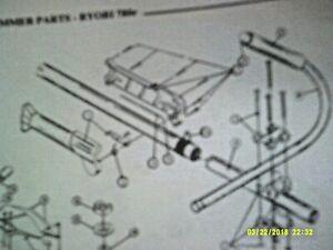 Ryobi Gas String Trimmer Parts List (See Model List Below)