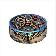 Skin Decal for Amazon Echo Dot (2nd gen) / Tribal Abstract Owl