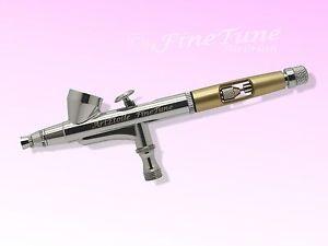 FineTune FT-730 Ladyline gold - NailArt Double Action Airbrushpistole 0,2mm