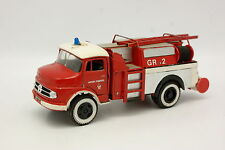 Buby Argentine Code 3 1/43 - Mercedes L1112 Pompiers