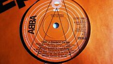 ABBA TAKE A CHANCE ON ME c/w I'M A MARIONETTE 1977 'A' LABEL PROMO EPIC RECORDS