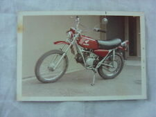Vintage Photo 1973 Honda Dirt Bike Motocross Motorcycle 801