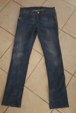 "MISS SIXTY ""SHOCK""  sz30 stretch jeans Slim leg Classic rise LIPS BUTTON  gc"