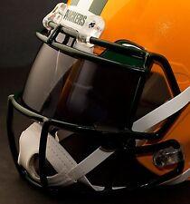 *CUSTOM* GREEN BAY PACKERS NFL OAKLEY Football Helmet EYE SHIELD / VISOR