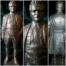 "VNT Russian Soviet USSR KIROV old  bust statue  Stalin Lenin friend 13 1/4""(34)H"