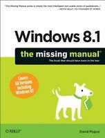 Windows 8.1: The Missing Manual by David Pogue