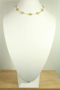 10 clover cluster necklace.