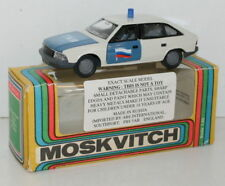 1/43 SCALE DIECAST USSR MADE MODEL CAR MOSKVICH MOSKVITCH 2141 - POLICE CAR