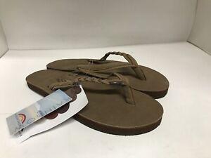 Rainbow Sandals Women Flirty Braidy Leather Single Braided Strap 9.5--10.5