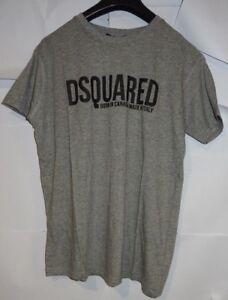 DSquared² Men's Grey Printed T-Shirt Size Medium VR91 020