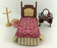 Fisher Price Loving Family Dream Dollhouse Parents Bedroom Set Bed Toy 2005