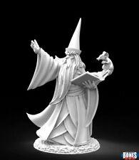 1x DARIUS the BLUE - BONES REAPER figurine miniature rpg jdr mage magicien 30002