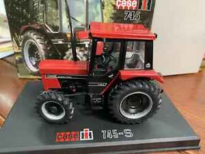 1:32 Scale DieCast Model REP212 Cae IH 745-S 4X4 Tractor New in Original Box