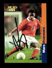 Marc Overmars Holland Panini Cards WK 98 Original Signiert+ A 106097
