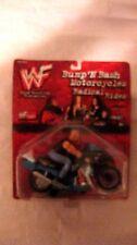 WWF Rare Bump N Bash Motorcycles Radical Rides Steve Austin Figure 1998 NEW t685
