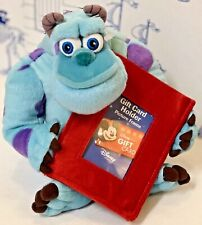Disney Store Monsters Inc Sulley Plush Toy Red Gift Card Holder Photo Frame NWOT