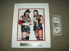 8X10 MATTED Signed BEER MONEY,INC. COA 97/100 WWE WWF ECW Wrestling AEW ROH DX