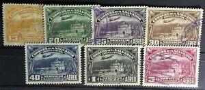 El Salvador SC #C54-60 Used Set 1937