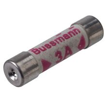 Bussmann plug top fuse 3Amp 6.35 x 25mm  Pack of 10