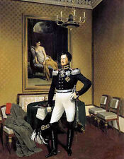 Art Oil painting franz kruger - Young man prince augustus of prussia on canvas