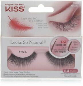 Kiss natural eyelashes Sexy B. Brand New
