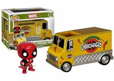 Funko Pop! Rides Deadpool Chimichanga Truck Vinyl Figure