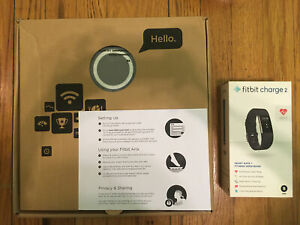 Fitbit Aria WiFi Smart Scale & Fitbit Charge 2 Wristband HEART RATE Fitness