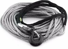 Smittybilt XRC Synthetic 10,000 lb. 94 Foot Winch Rope Kit w/ Hook & Thimble