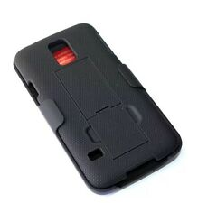 Samsung Galaxy S5 Belt Clip Holster Combo Case With KickStand Cover T-Mobile