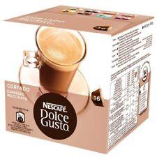 Estuche Caja Pack Dolce Gusto Cafe Cortado Espreso 16 capsulas